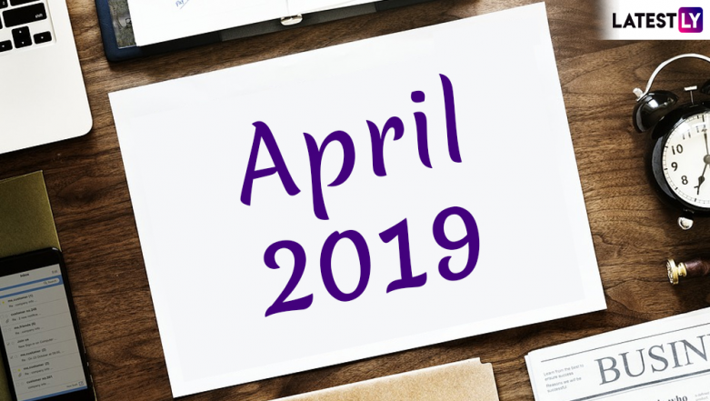 April 2019 Festivals, Events and Holiday Calendar: Chaitra Navratri to Gudi Padwa to Rama Navami, Know All Important Dates and List of Hindu Fasts for the Month