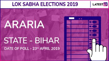 Araria Lok Sabha Constituency Election Results 2019 in Bihar: Pradeep Kumar Singh of BJP Wins The Seat