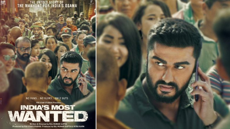 India's Most Wanted New Poster: Arjun Kapoor All Set to Hunt Down the Nation's Osama Without Firing a Bullet – See Pic