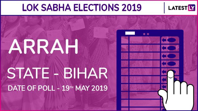 Arrah Lok Sabha Constituency Election Results 2019 in Bihar: RK Singh of BJP Wins The Seat