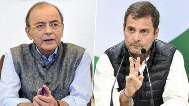 Arun Jaitley Mocks Rahul Gandhi, Priyanka Ahead of Phase 4 Lok Sabha Elections, Says BJP Will Win Polls With Even Bigger Mandate Than 2014