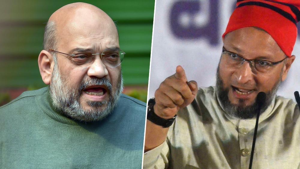 CAA Row: Asaduddin Owaisi Counters Amit Shah's 'Falsehood' Charge, Says Citizenship on Religious Basis 'Antithetical' to Constitution