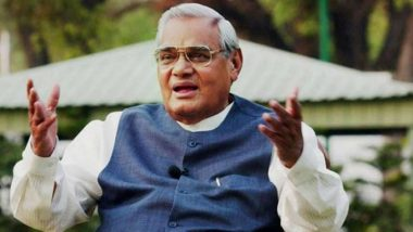 Atal Bihari Vajpayee Statue Installed in Lucknow, to Be Unveiled on His Birth Anniversary on December 25th