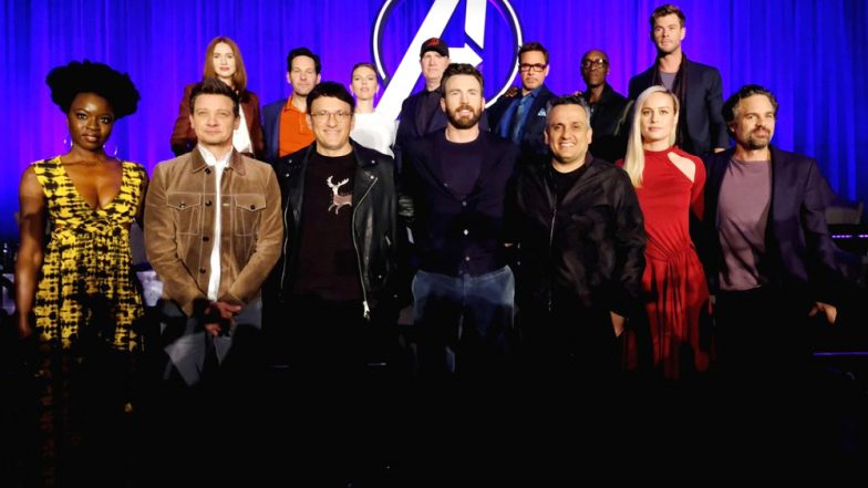 Avengers: Endgame Stars Leave Empty Seats for 'Fallen Heroes' at a Press Event - See Pics!