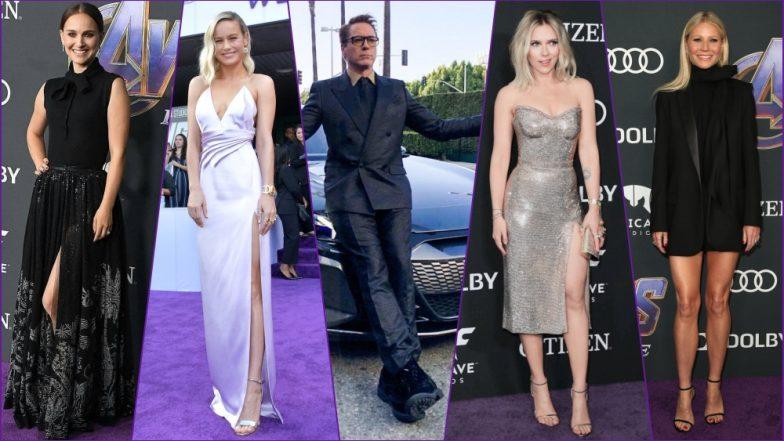 Avengers Endgame Premiere Stylo Meter: Natalie Portman, RDJ, Scar Jo, Brie Larson & Other MCU Cast Make Stylish Appearances