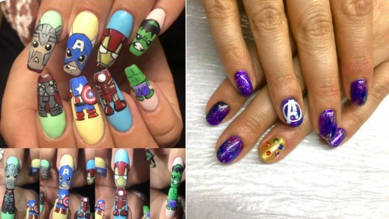Avengers Nail Arts and Manicures Take Over Twitter to Pay Tribute to the 'Original Six' in Avengers: Endgame (View Pics)