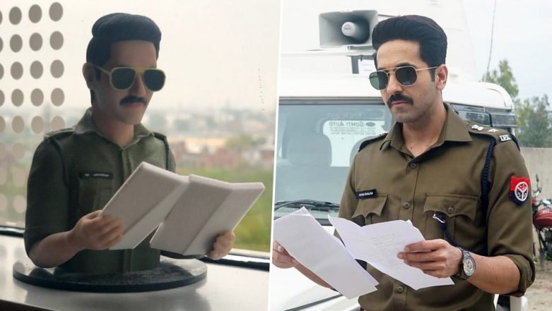 Ayushmann Khurrana Wraps Up Article 15 Shoot, Team Gifts Him an Adorable 3D Mini-Model of His Character - View Pic
