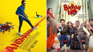 Critics Choice Film Awards 2019 Nominations List: Andhadhun and Badhaai Ho Dominate, Deepika Padukone Doesn't Get a Mention in the Best Actress Category