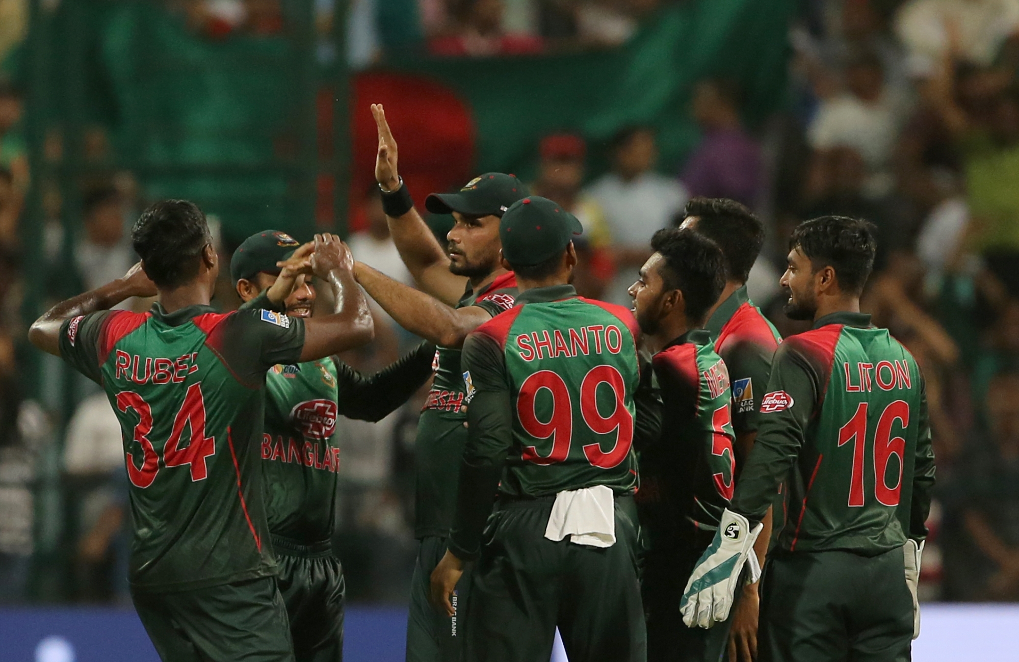Bangladesh Script History by Beating India 1st Time in a T20I match, End 8–0 Losing Streak Against Men in Blue in Shortest Format of Cricket