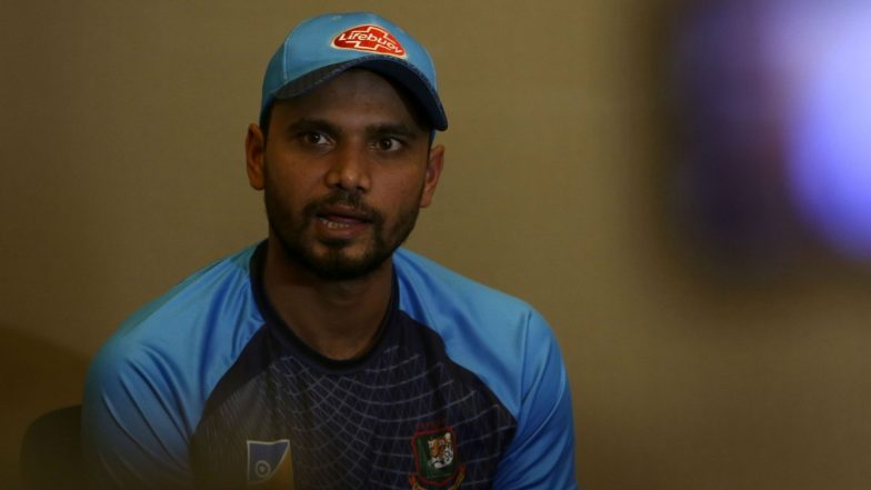 Bangladesh 15-Man Squad For 2019 ICC Cricket World Cup Announced, Mashrafe Mortaza to Lead, Mosaddek Hossain Makes a Comeback