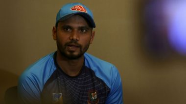 Mashrafe Mortaza Recovers from COVID-19, Wife Still Positive
