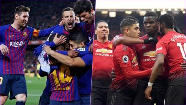 Barcelona vs Manchester United, Champions League Quarter-Final Live Streaming Online: How to Get UEFA CL 2018–19 Leg 2 of 2 Match Live Telecast on TV & Free Football Score Updates in Indian Time?