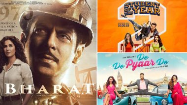 Salman's Bharat BEATS Ajay's De De Pyaar De and Tiger's SOTY 2 to be the Most Anticipated Indian Movie on IMDB