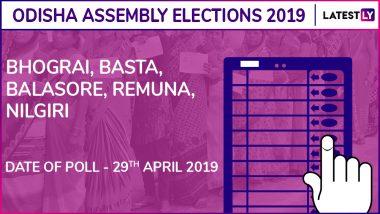 Bhograi, Basta, Balasore, Remuna, Nilgiri Assembly Elections Results 2019 in Odisha: BJD Wins 3 Seats, BJP 2