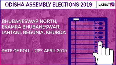 Bhubaneswar-North, Ekamra-Bhubaneswar, Jatani, Begunia, Khurda Assembly Elections 2019 Results in Odisha: BJD Wins 3 Seats, BJP 1