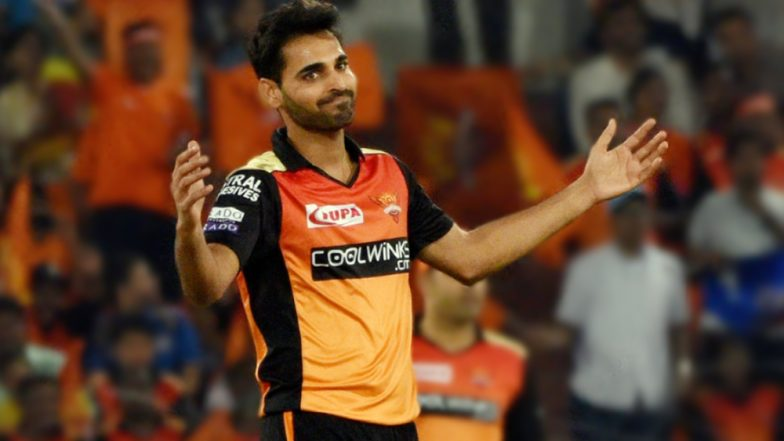 KXIP vs SRH, VIVO IPL 2019: Will Bhuvneshwar Kumar Reach 100 Wickets While Playing for Hyderabad in the Upcoming Game Against Punjab