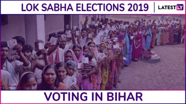 Bihar Lok Sabha Elections 2019: Phase 2 Voting Ends for Kishanganj, Katihar, Purnia, Bhagalpur and Banka Parliamentary Constituencies, 60.31% Voter Turnout Recorded