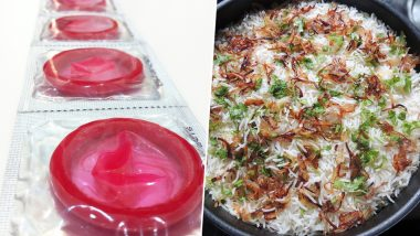 Hyderabadi Biryani to Burn Calories or Add Them? Manforce Condom & Zomato Have a Funny Exchange on April Fools' Day Joke