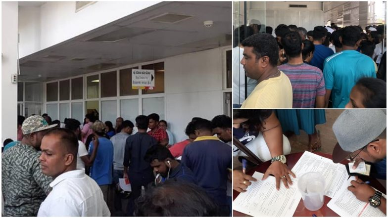 Sri Lanka Serial Blasts: People From All Religions Display Solidarity by Gathering in Huge Numbers to Donate Blood For Terror Attack Victims (View Pics)