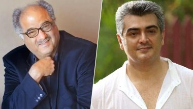 Nerkonda Paarvai Producer Boney Kapoor Wants 'Thala' Ajith Kumar to Enter Bollywood! 3 Action Scripts Offered to the Superstar