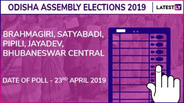 Brahmagiri, Satyabadi, Pipili, Jayadev, Bhubaneswar-Central Assembly Elections 2019 Results in Odisha: BJD wins 4, BJP 1
