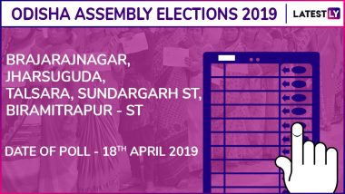 Brajarajnagar, Jharsuguda, Talsara, Sundargarh, Birmitrapur Assembly Election Results 2019 in Odisha: Check List of Winning Candidates