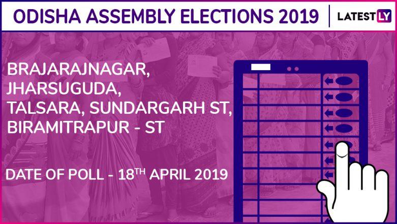 Brajarajnagar, Jharsuguda, Talsara, Sundargarh, Birmitrapur Assembly Election Results 2019 in Odisha: Check List of Winning Candidates