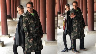 Avengers: Endgame Actors Brie Larson And Robert Downey Jr. With Their Intimidating Poses Want Thanos To Be Scared Of Them - View Pics