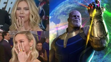 Brie Larson And Scarlett Johansson Give Thanos Some Major Competition By Sporting Infinity Gauntlet-Inspired Jewellery At Avengers: Endgame Premiere!