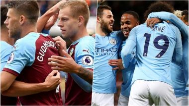 Burnley FC vs Manchester City, EPL 2018–19 Live Streaming Online: How to Get Premier League Match Live Telecast on TV & Free Football Score Updates in Indian Time?