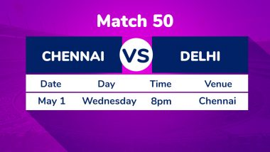 CSK vs DC, IPL 2019 Match 50 Preview: Battle for Top Spot Between Chennai Super Kings, Delhi Capitals