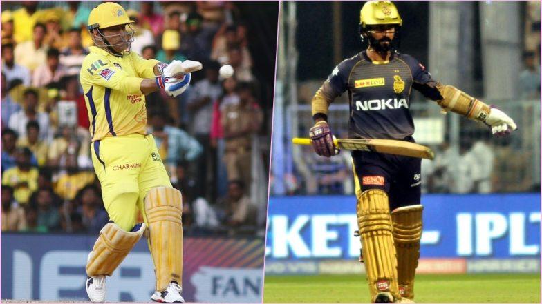 CSK vs KKR Head-to-Head Record: Ahead of IPL 2019 Clash, Here Are Match Results of Last 5 Chennai Super Kings vs Kolkata Knight Riders Encounters!