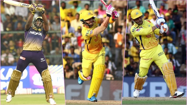 CSK vs KKR, IPL 2019 Match 23, Key Players: Andre Russell to Faf du Plessis to MS Dhoni, These Cricketers Are to Watch Out for at MA Chidambaram Stadium