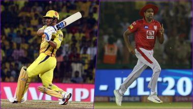 CSK vs KXIP Head-to-Head Record: Ahead of IPL 2019 Clash, Here Are Match Results of Last 5 Chennai Super Kings vs Kings XI Punjab Encounters!