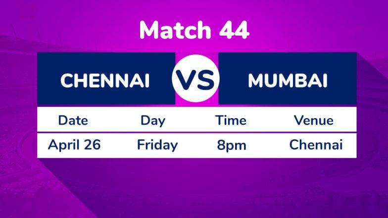 CSK vs MI, IPL 2019 Match 44 Preview: Chennai Super Kings Eye Revenge Against Mumbai Indians