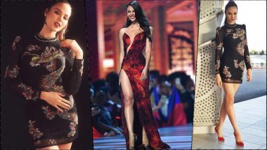 Catriona Gray Does Her Famous 'Lava Walk' at Miss Teen USA 2019! Watch Reigning Miss Universe Grace the Show
