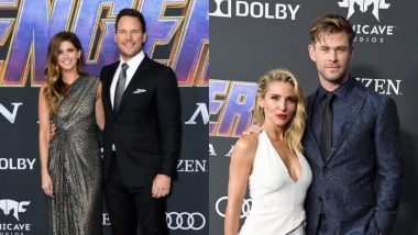Chris Pratt - Katherine Schwarzenegger, Chris Hemsworth - Elsa Pataky: Here Are Pics Of All The Couples From The Avengers: Endgame Red Carpet!