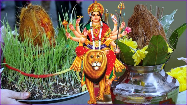 Chaitra Navratri 2019 Ghatasthapana Puja Shubh Muhurat: Kalash Sthapana Timings & Puja Vidhi to Perform on Day 1 of Navaratri Festival