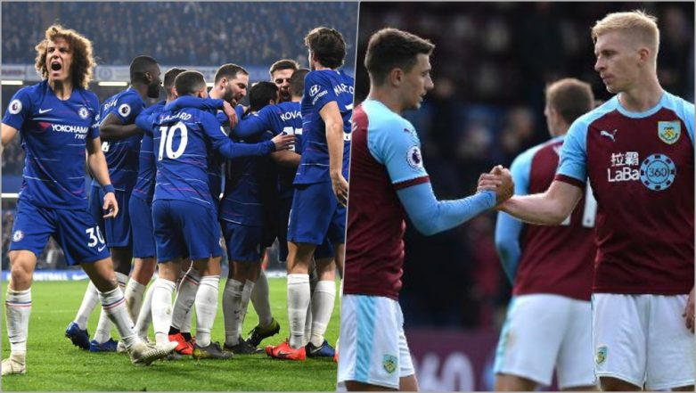 Chelsea vs Burnley FC, EPL 2018–19 Live Streaming Online: How to Get Premier League Match Live Telecast on TV & Free Football Score Updates in Indian Time?