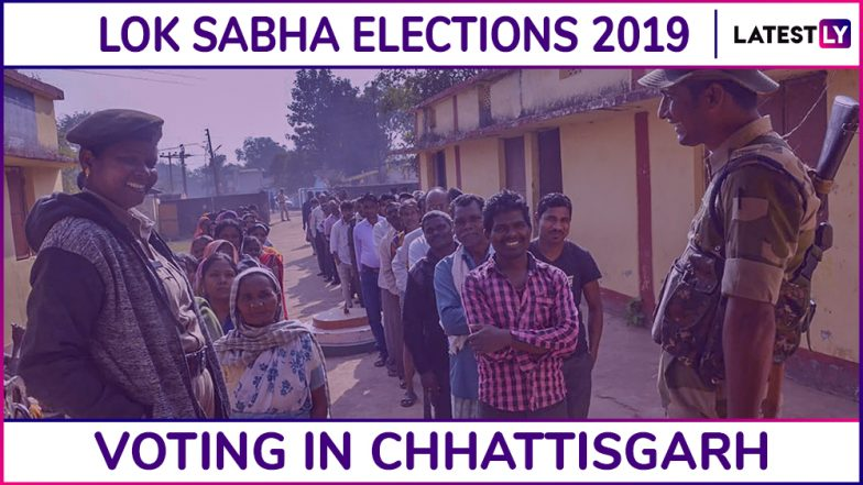 chhattisgarh lok sabha elections 2019 phase 3 voting ends. Black Bedroom Furniture Sets. Home Design Ideas