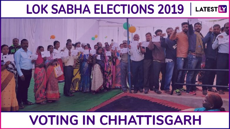 Chhattisgarh Lok Sabha Elections 2019: Phase 2 Voting Ends in Rajanandgaon, Mahasamund and Kanker Parliamentary Constituencies, 70.24% Turnout Recorded