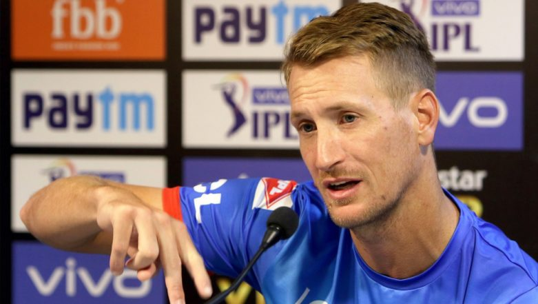 DC Shares Video of All-Rounder Chris Morris Hitting the Target With Perfection During the Training Session Ahead of Their Clash With Kings XI Punjab In VIVO IPL 2019