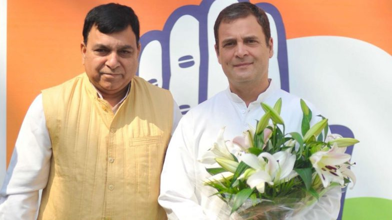 Lok Sabha Elections 2019: Former BJP MP Suresh Chandel Joins Congress