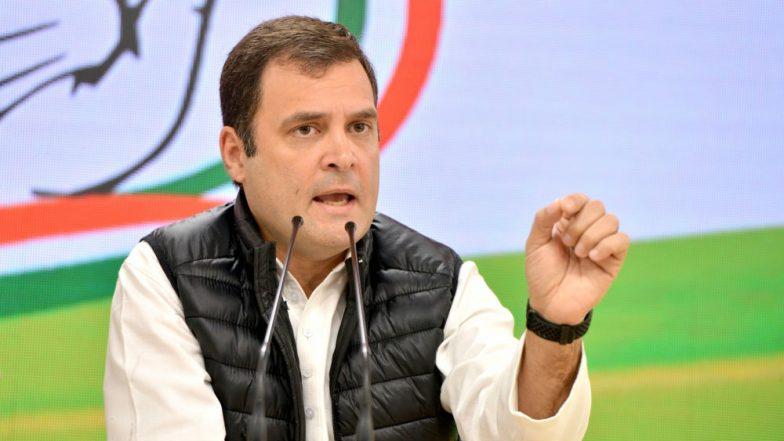 Cyclone Vayu: Rahul Gandhi Prays For Safety of People in Gujarat, Urges Party Workers to Help