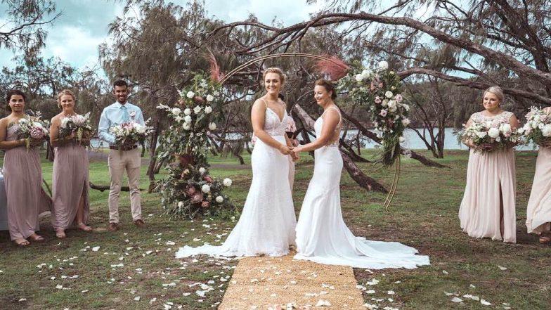 Women Cricketers Hayley Jensen And Nicola Hancock from New Zealand, Australia Get Married (See Picture)