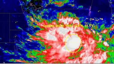 Cyclone Fani Likely to Make Landfall on Eastern Coast Today, High Alert in Odisha And Andhra Pradesh