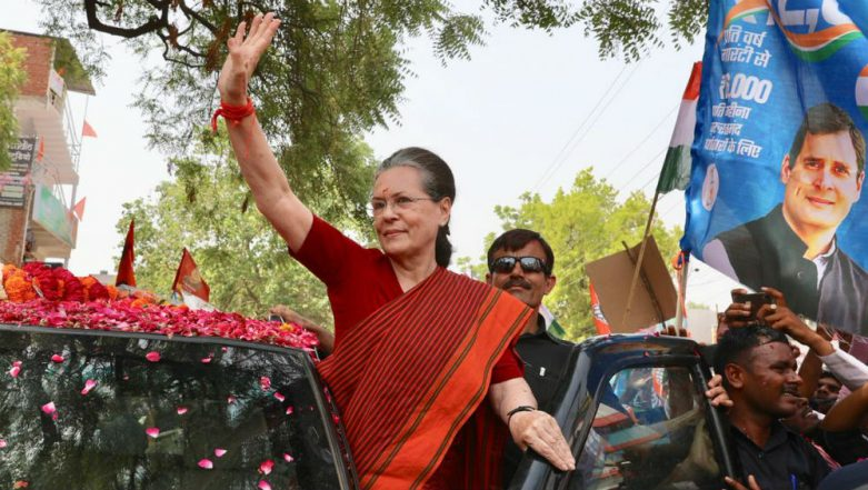 Sonia Gandhi Files Nomination From Raebareli in Uttar Pradesh For Lok Sabha Elections 2019, Says Narendra Modi Not Invincible