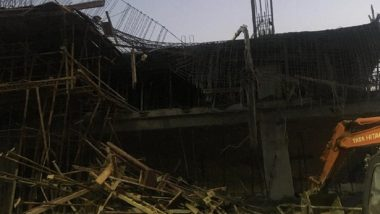 Bengaluru Building Collapse: Two Labourers Dead, Eight Injured After Multi-Level Car Parking Collapses in Yeswanthpur