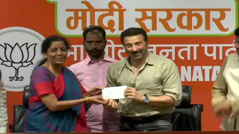 Sunny Deol Joins BJP, Likely to Contest Lok Sabha Elections 2019 from Gurdaspur