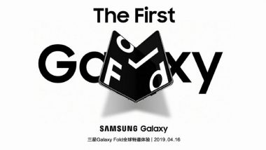 Samsung Galaxy Fold Smartphone Scheduled To Launched in China on April 16; Price, Features & Specifications